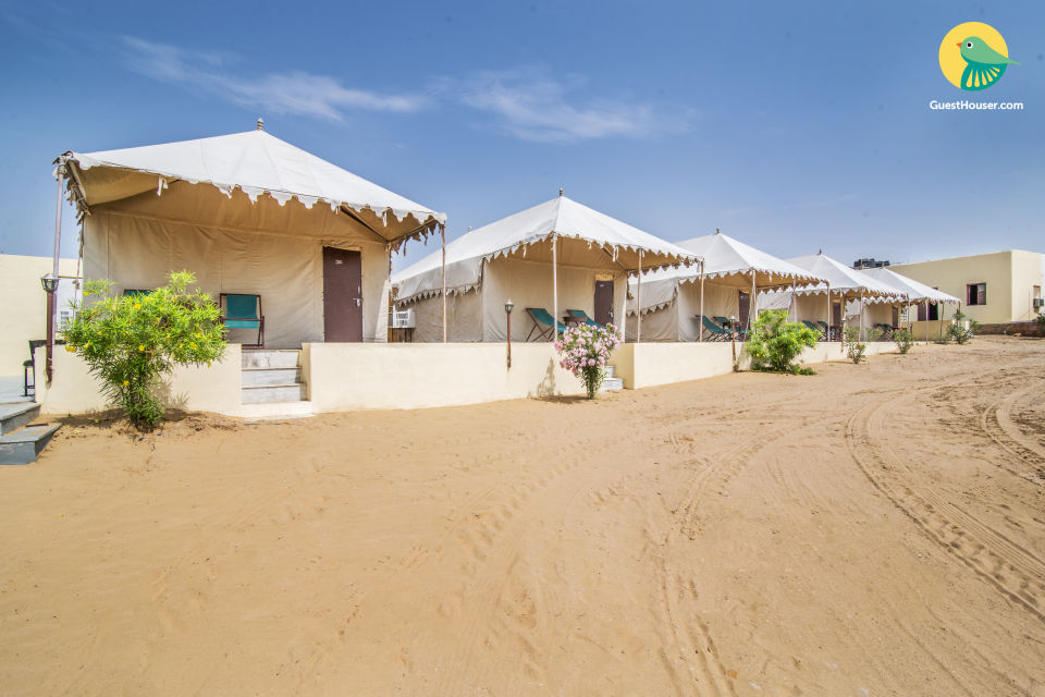 Beautiful tent for three in Thar Desert