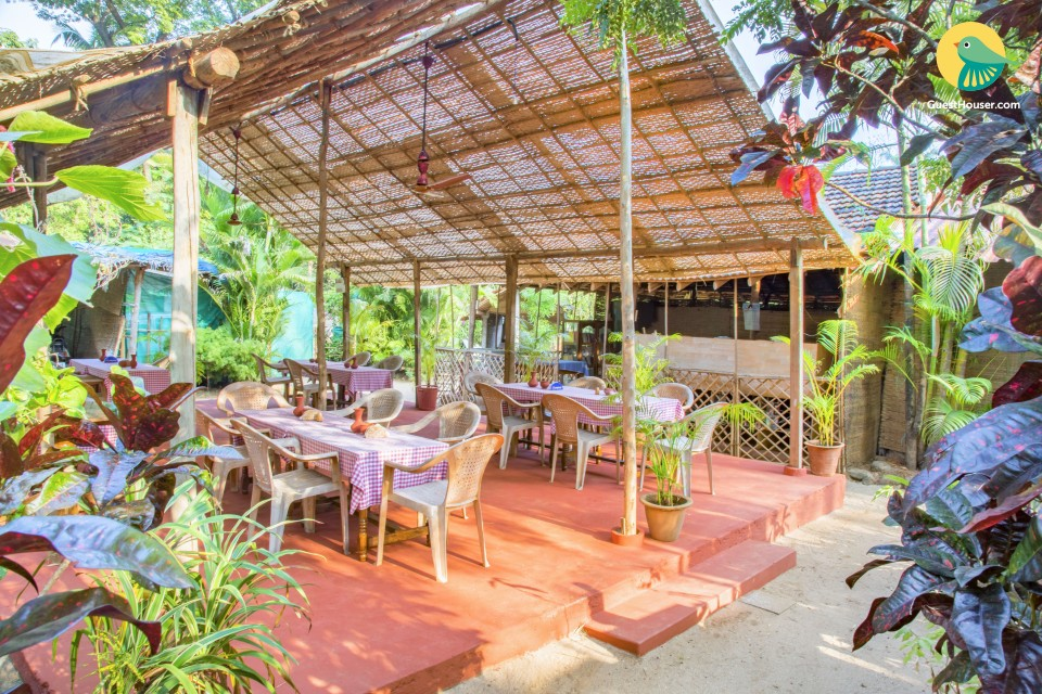 1-BR stay for solo travellers, 1.5 km from Palolem beach