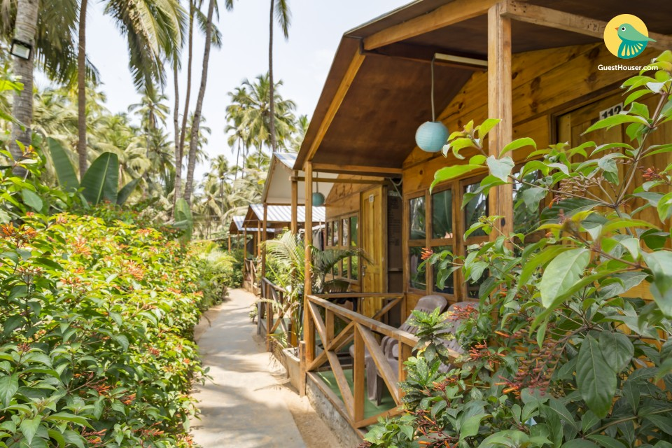 An idyllic cottage for bibliophiles, near Palolem beach