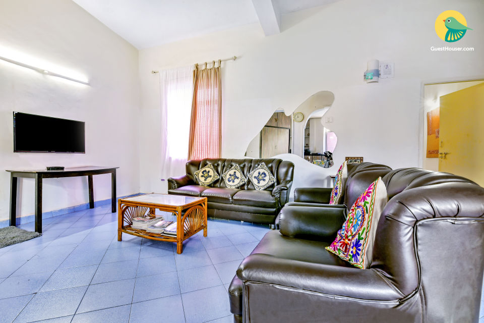 Commodious 3 BHK, close to Calangute Beach