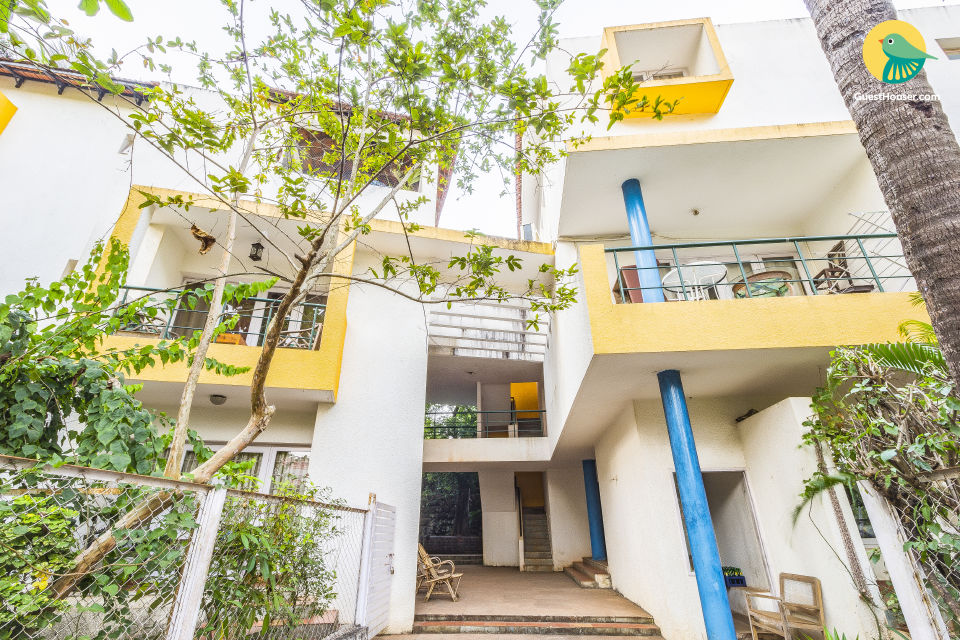 Chic 2 BHK for groups, near Candolim Beach