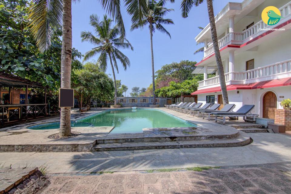Spacious stay for groups, near Calangute Beach
