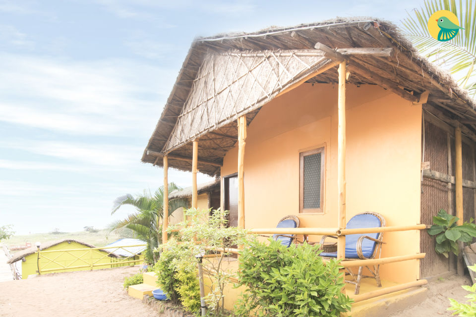 1-bedroom rustic cottage, 600 m from Mandrem beach