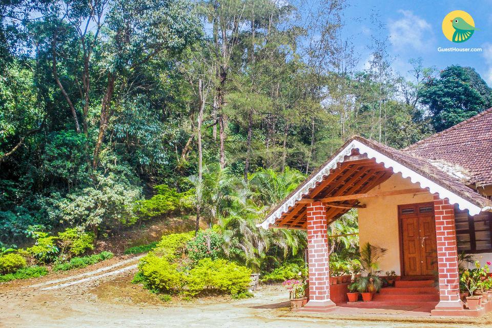 Idyllic stay for three, 1 km from Madikeri Fort