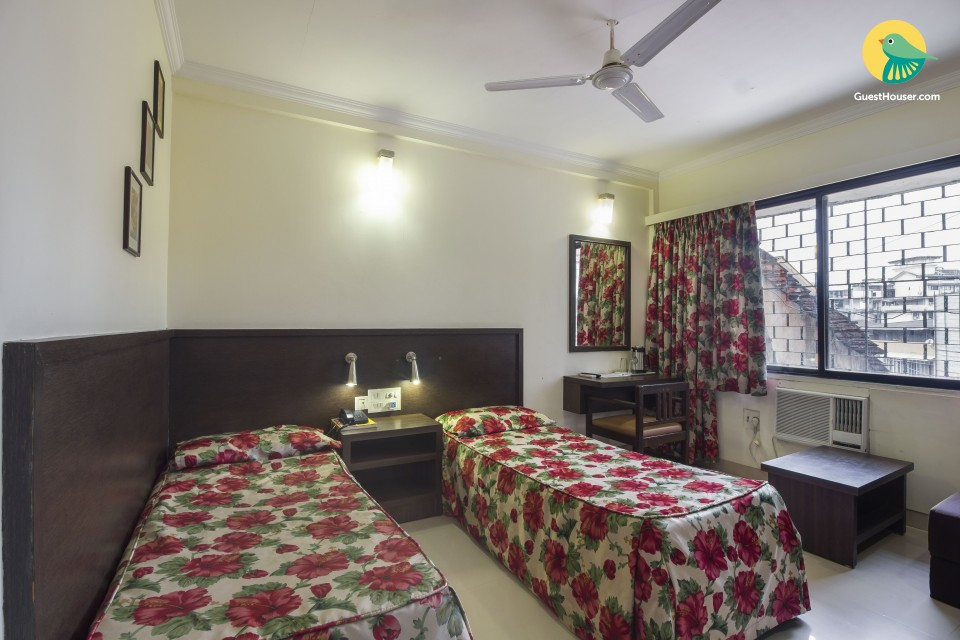 Modest room for 3 in Panjim