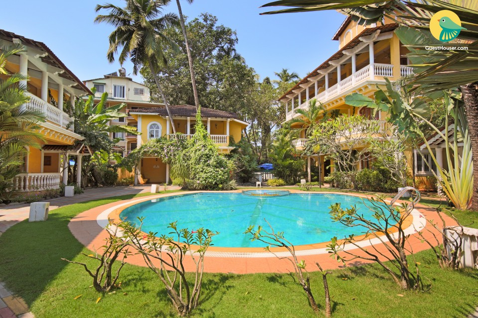 Stunning 3-bedroom villa, close to Calangute beach