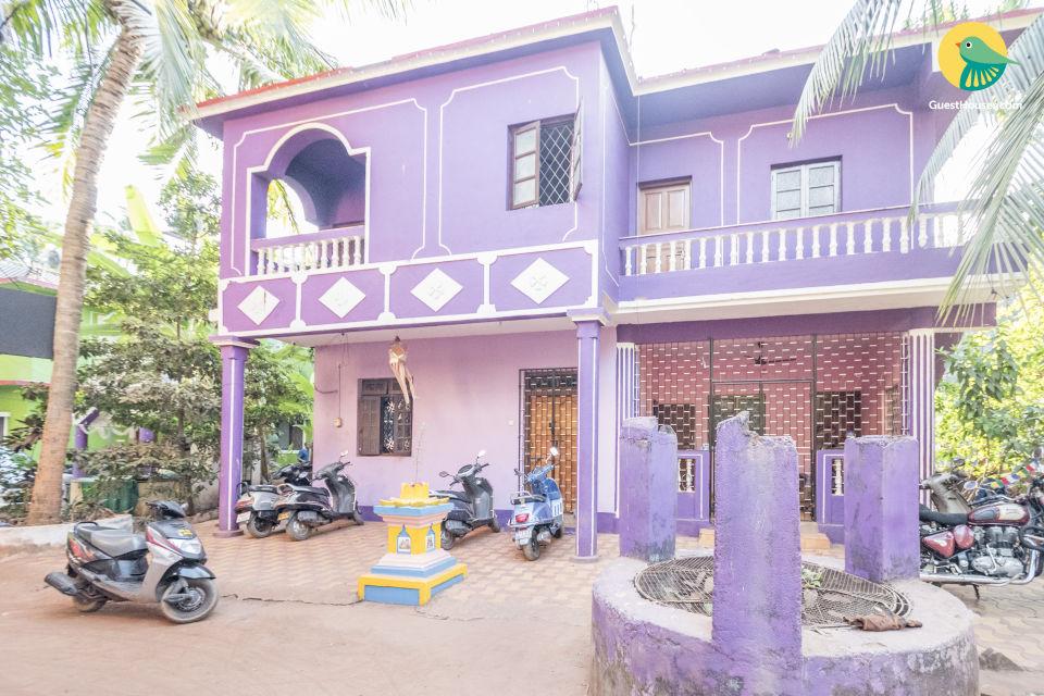 Homely stay near Calangute beach
