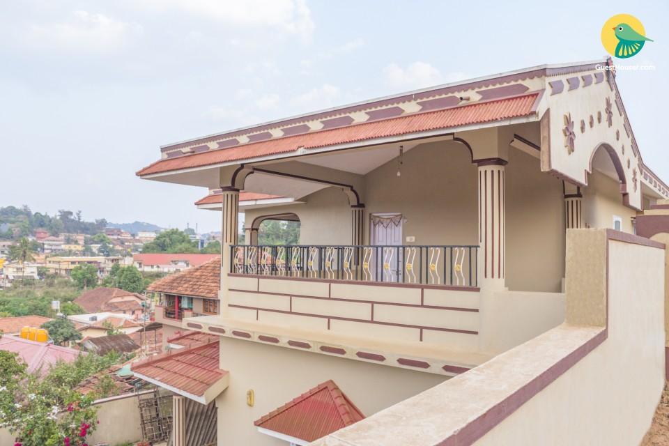 Comfy 2-BR stay, near Madikeri Fort