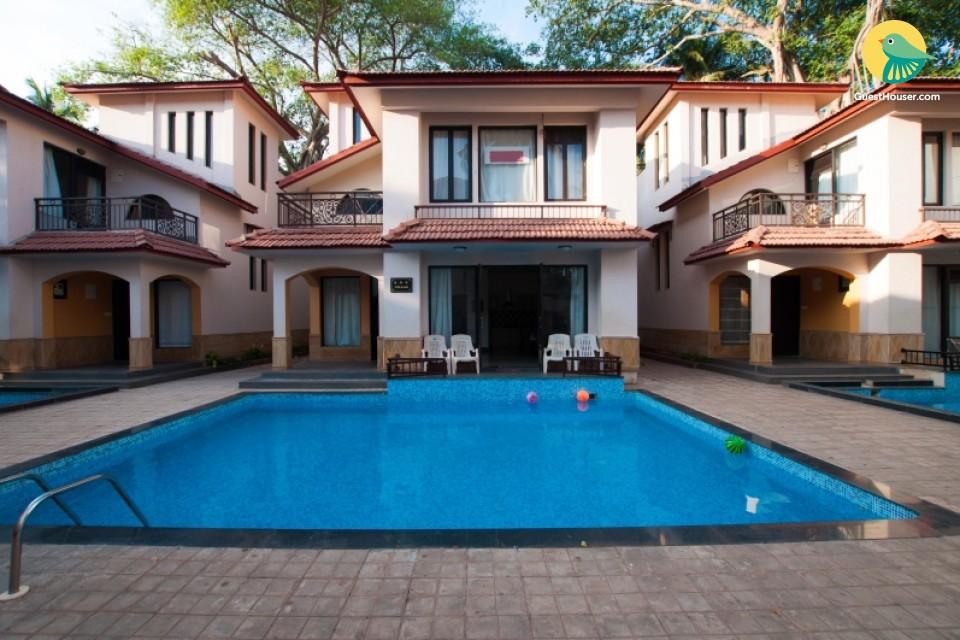 A homely 3-bedroom villa a short walk from Calangute beach