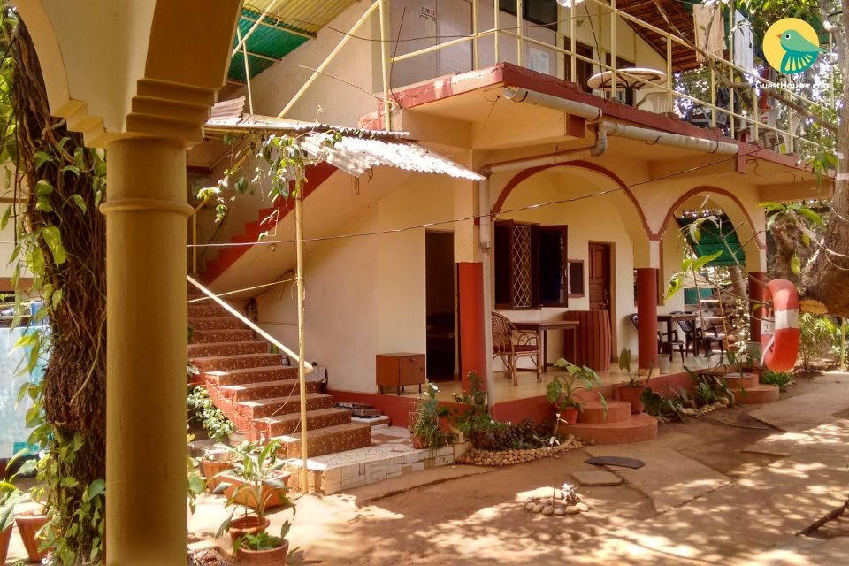 Restful abode for six, 1.9 km away from Calangute Beach