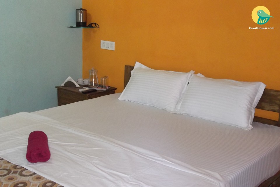 Tranquil abode for three, near Anjuna Beach