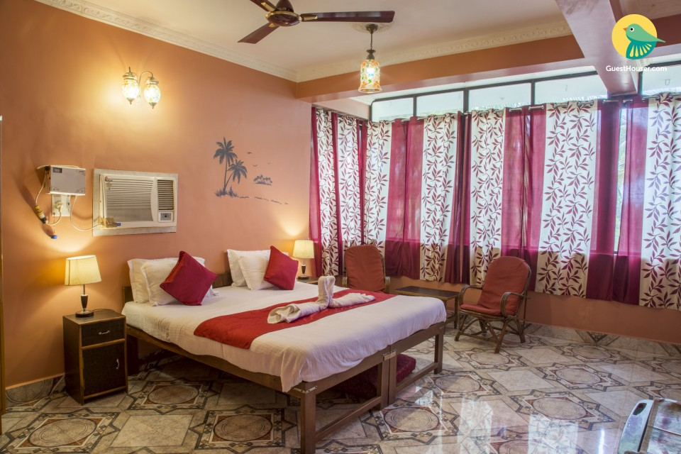 Cosy 1-BR in a boutique stay, 300 m from Candolim beach