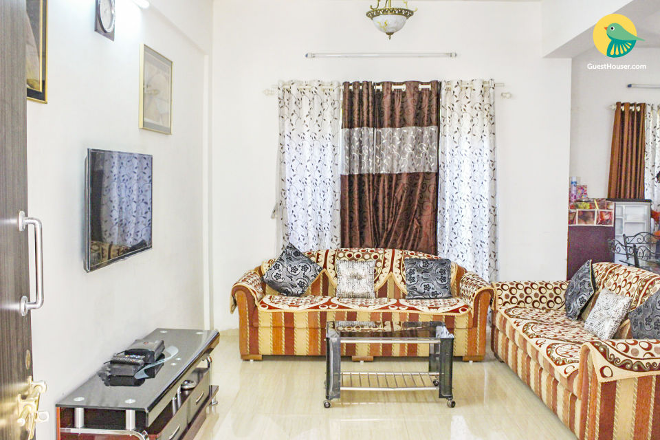 Well-furnished 3-BR villa for a large group