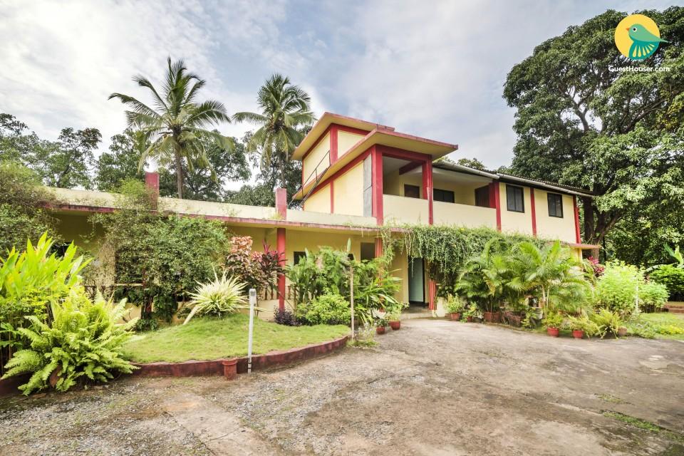 2-BR villa ideal for families, near Anjuna Beach