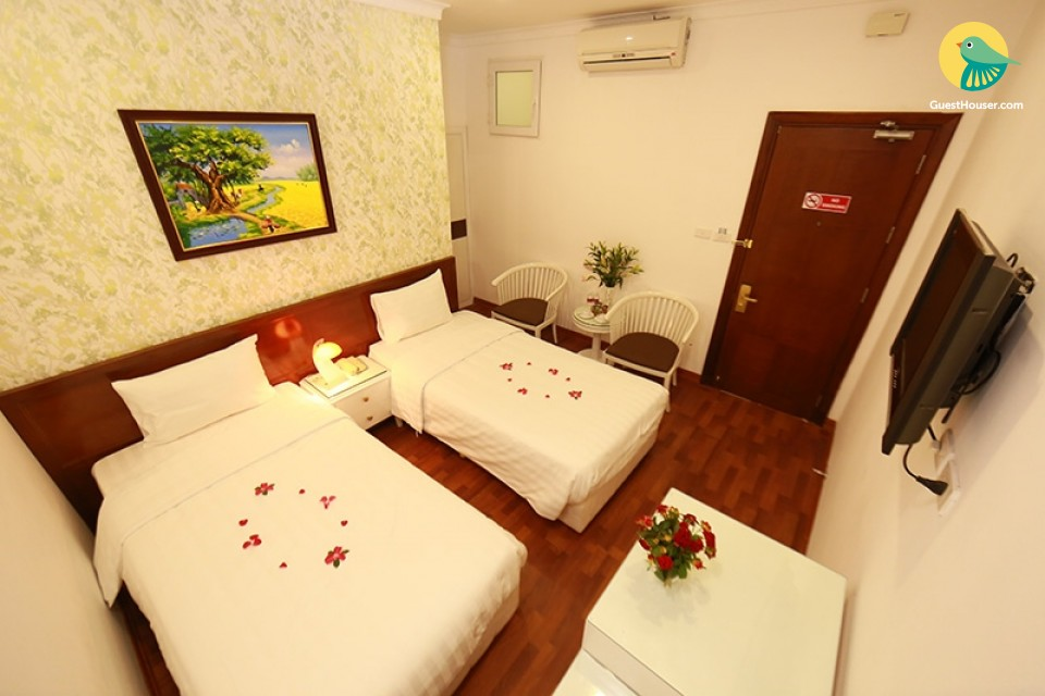 Modern room with all facility