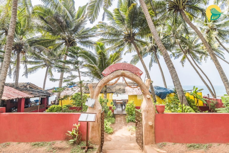 Eco-friendly stay for the nomad in you, close to Anjuna beach