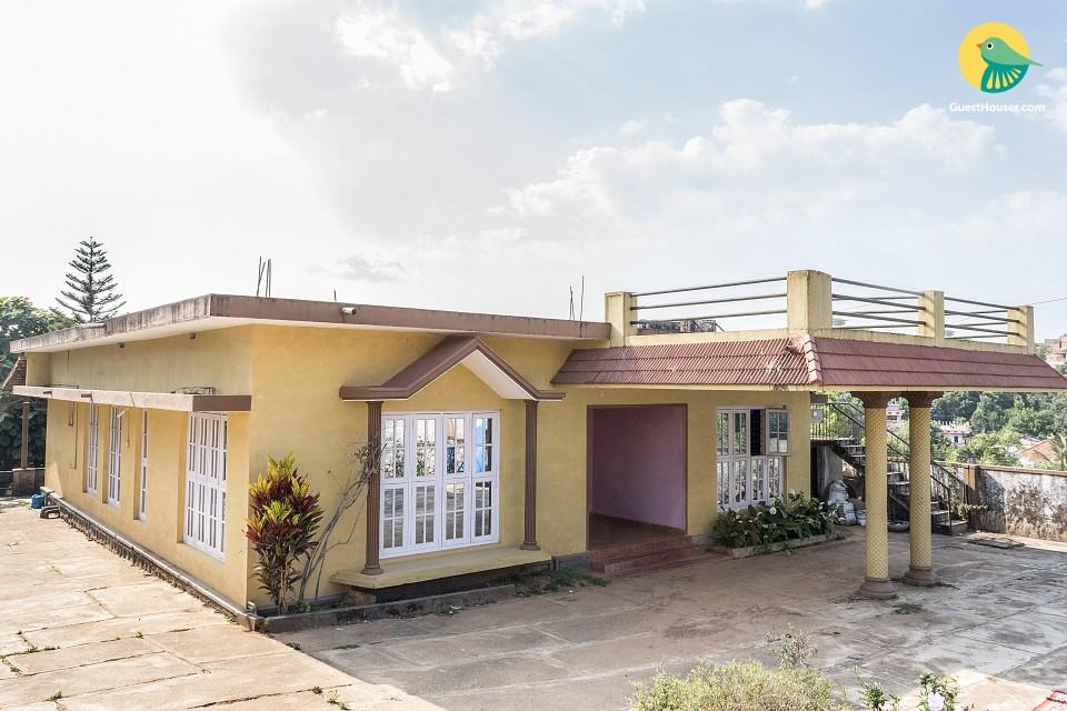 Idyllic 2-BR cottage near Madikeri Fort