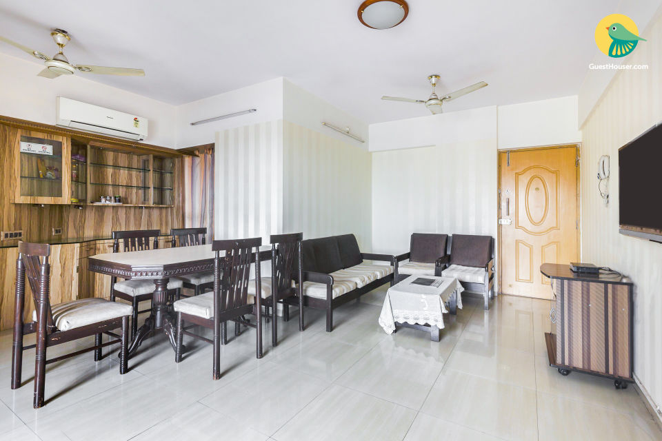 2BHK serviced apartments