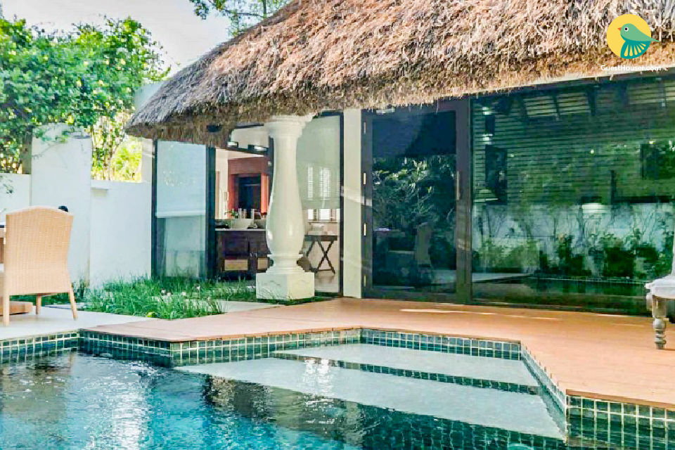 1-BR villa near Marari Beach