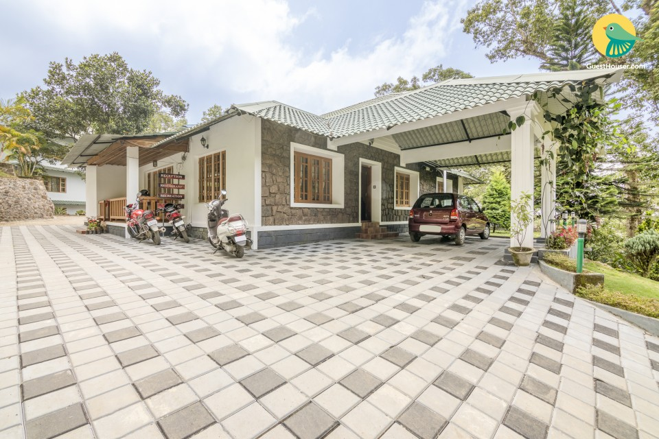 Reposeful bungalow for three, ideal for leisure travellers