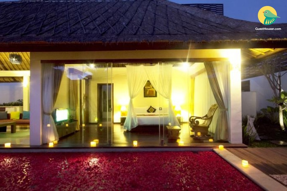 stay in 1 bedroom villa