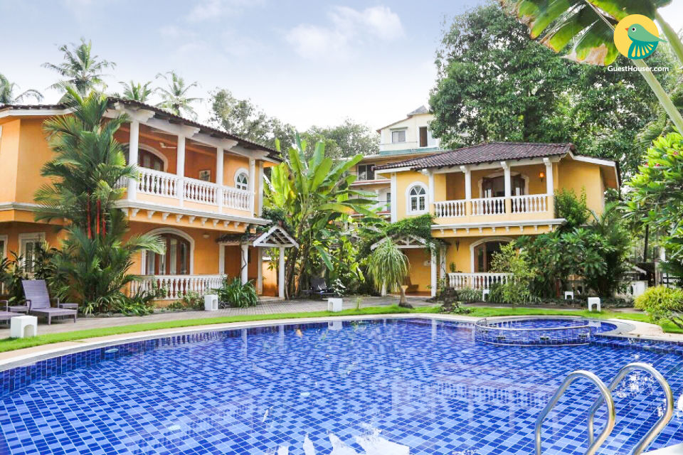 3-BR villa for groups
