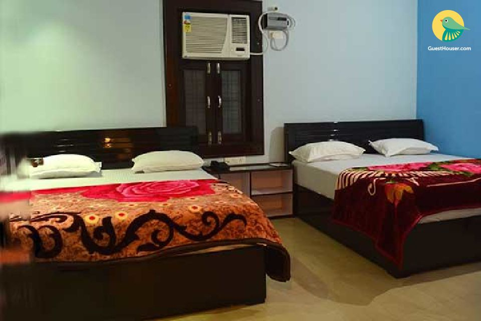 Peaceful stay for four in haridwar