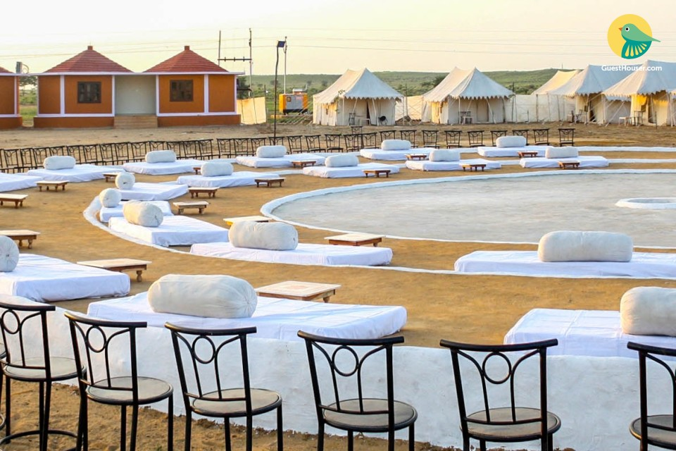 Tranquil tent stay for three in Jaisalmer