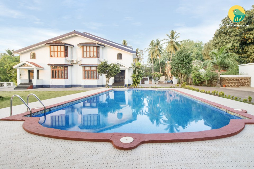 Homely villa for a relaxing retreat, 1.5 km from Saturday Night Market