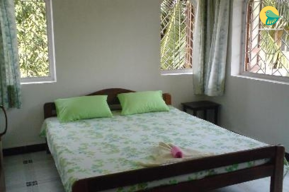 1-bedroom apartment close to Candolim beach, ideal for backpackers