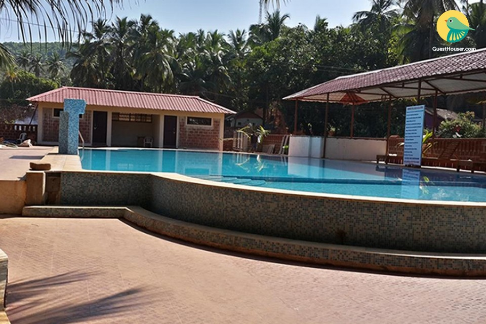 Boutique room near Kudle Beach