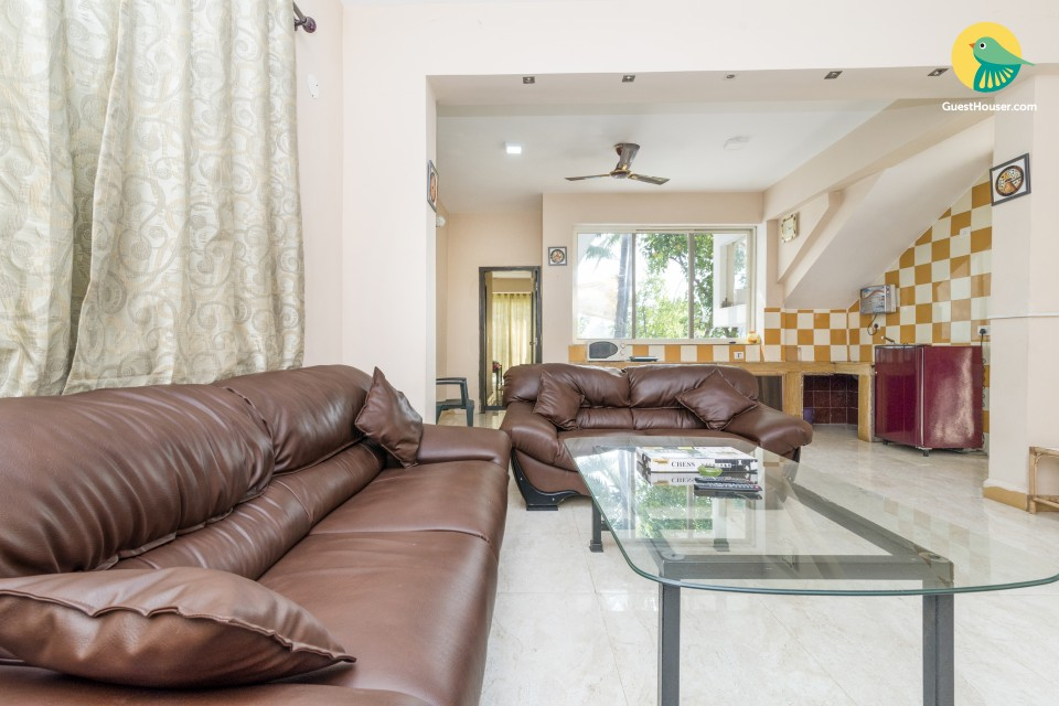 Tranquil 3-BR villa, close to Calangute Beach