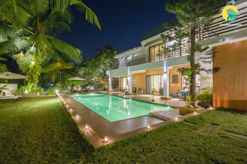 Uber-luxe 4-bedroom villa with a private pool and butler service