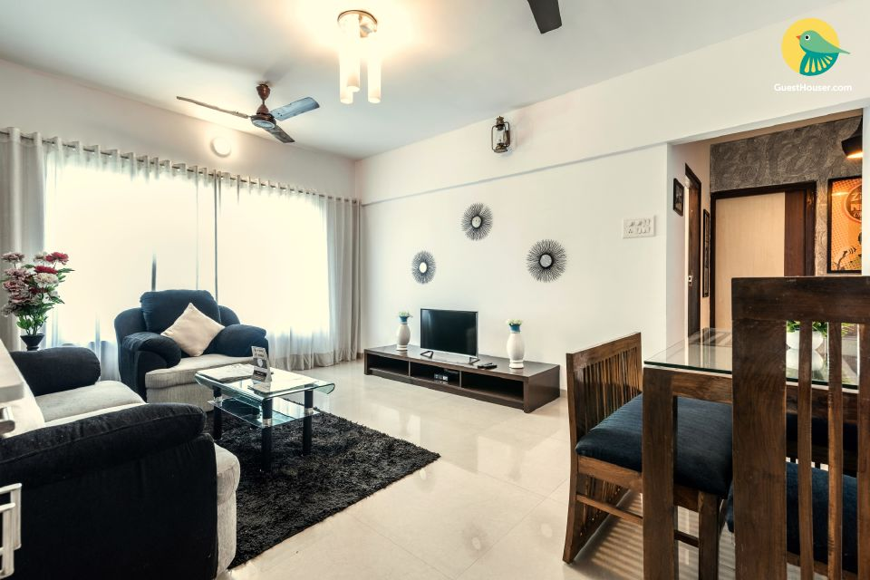 Entire 3 BR plush apartment in Mumbai