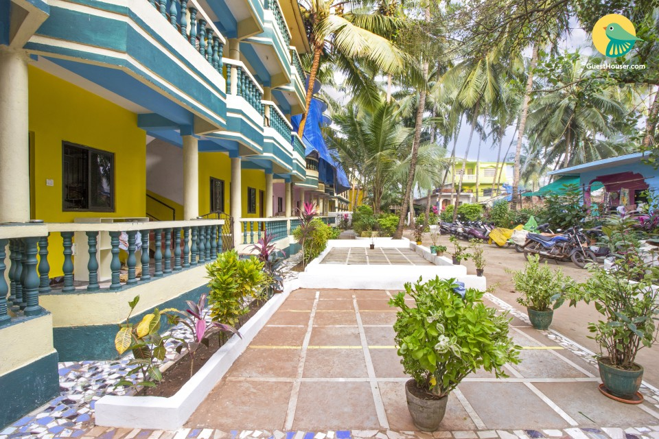1-bedroom tranquil abode, 1 km from Arambol Beach