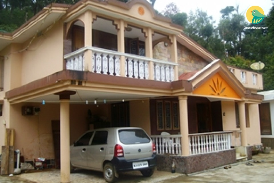 5-bedroom homestay ideal for a large group, near Madikeri Fort