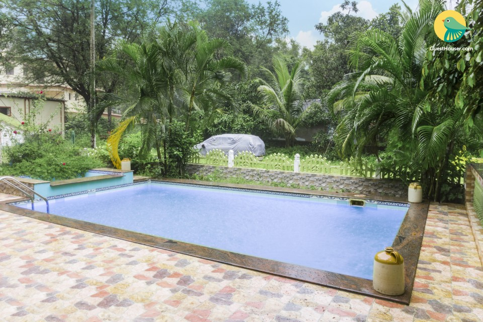 Lavishly furnished pool homestay, ideal for a romantic getaway
