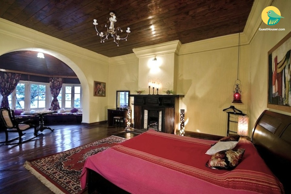 Boutique room for couples