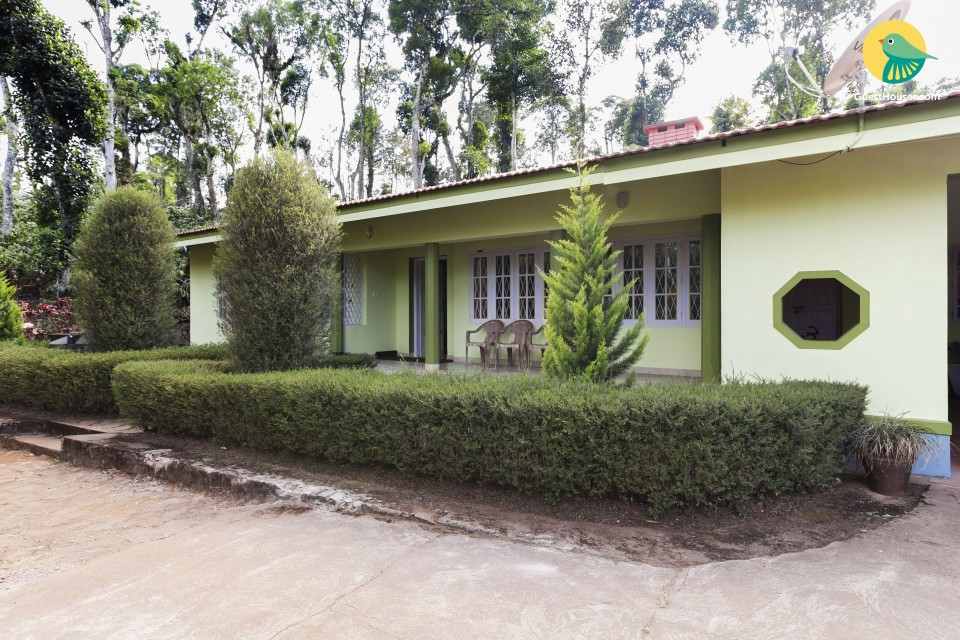 Eco-friendly villa with an elegant porch
