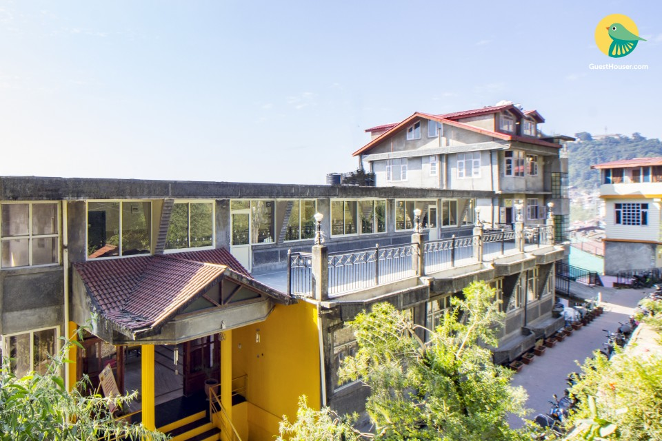 Commodious room with a scenic view, perfect for backpackers