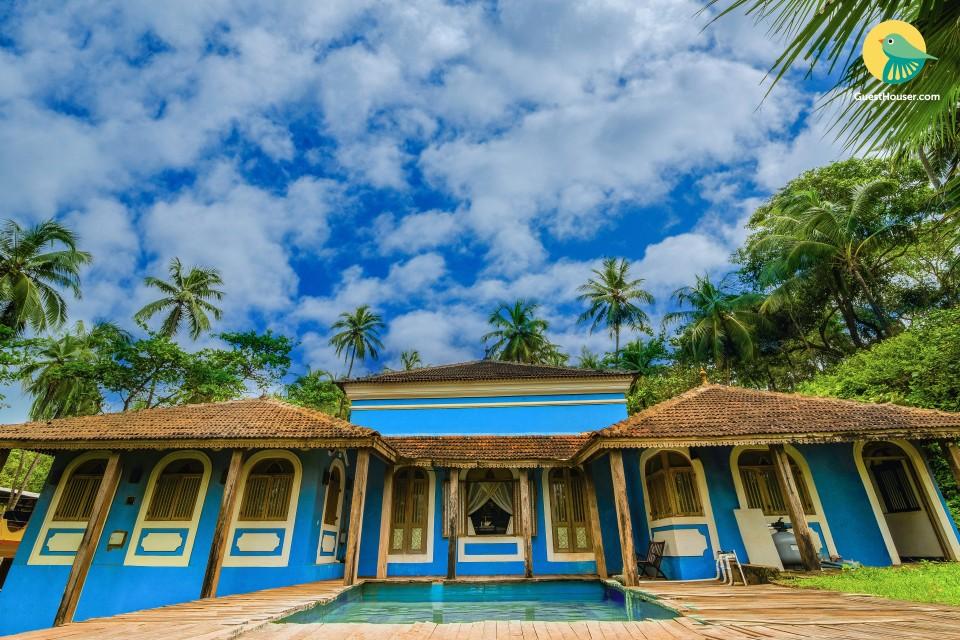 Idyllic 3-bedroom Portuguese villa with a private pool