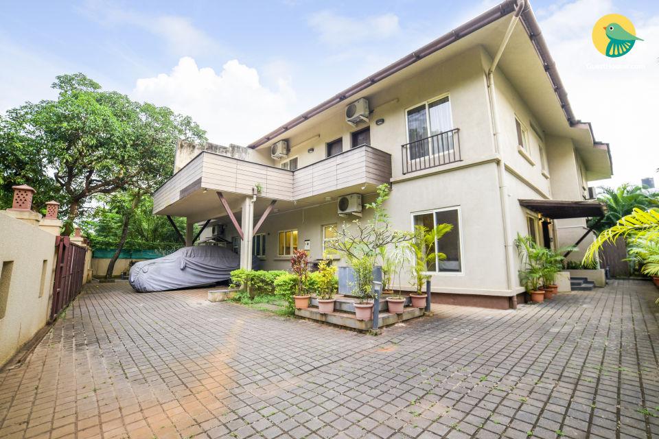 Congenial 4-BR Villa With Private Pool,Near Chapora Beach
