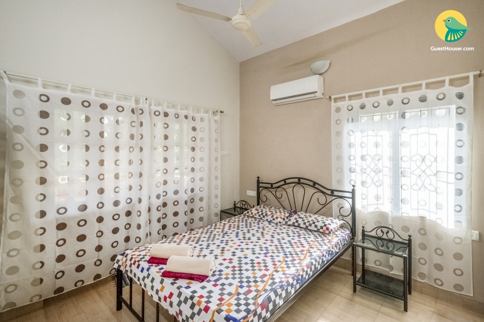 Homely apartment for 3, stone's throw from Calangute Beach
