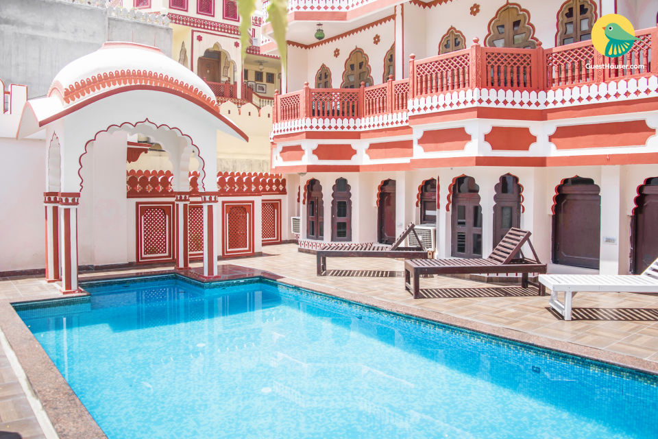 Traditional heritage retreat, close to Hawa Mahal