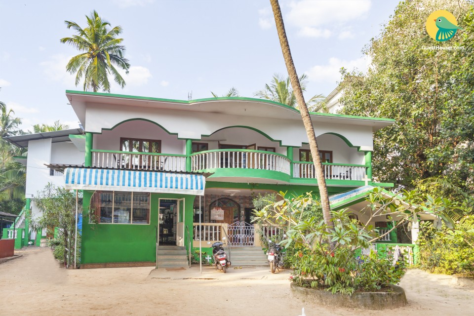 Well-furnished stay for a family retreat, 1.2 km from Calangute Beach