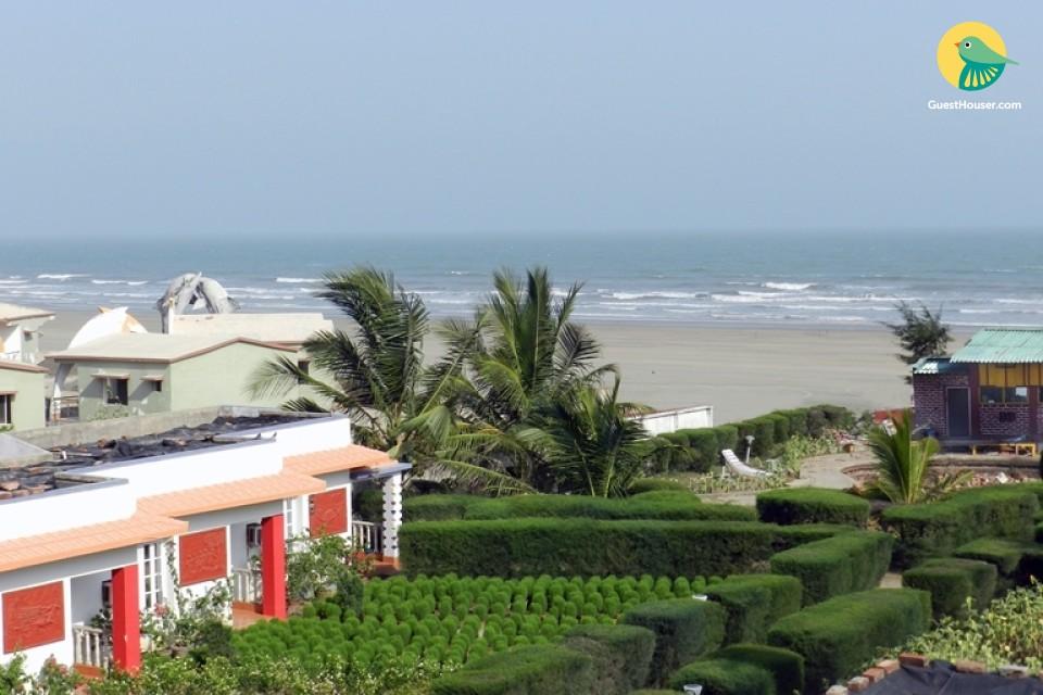 Sea-facing cottage room, near Mandarmani Beach