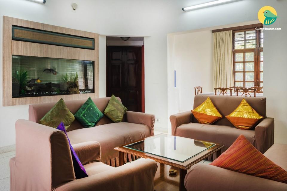 3-BR apartment, close to Qutub Minar