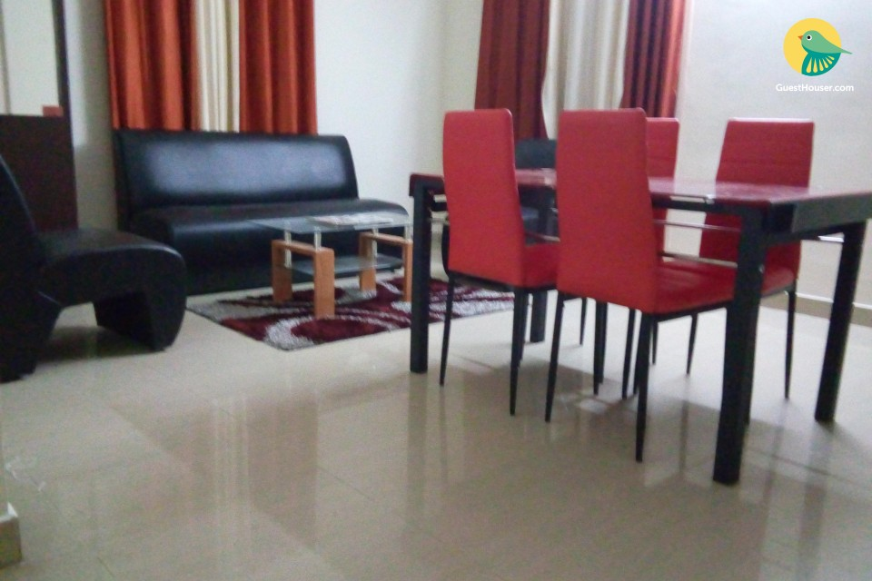 2 BHK Fully Furnished Service Apartment to stay