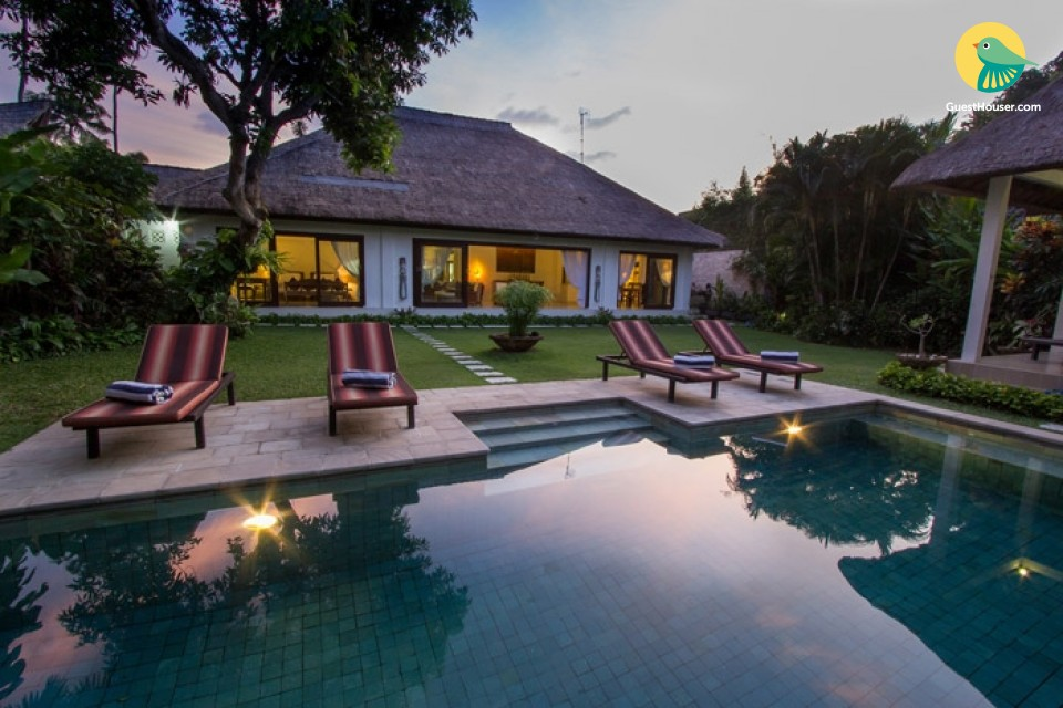 A fantastic room 3 bedroom Villa with Private Pool