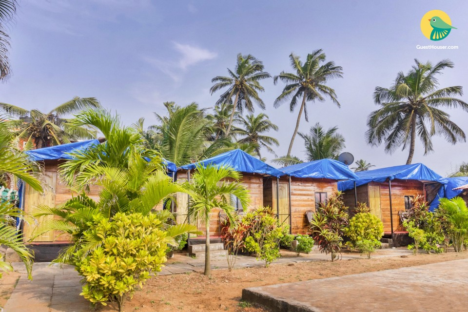 1-bedroom cottage, 300 m from Candolim Beach